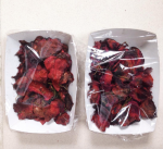 oh-so-delicious home-baked beet chips with sea salt & fresh rosemary
